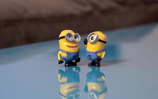 Minions, Talking, Smile, Conversation, Happy