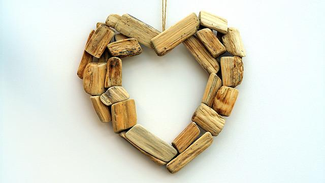 Wooden, Heart, Love, Happy, Romantic, Wood, Happiness