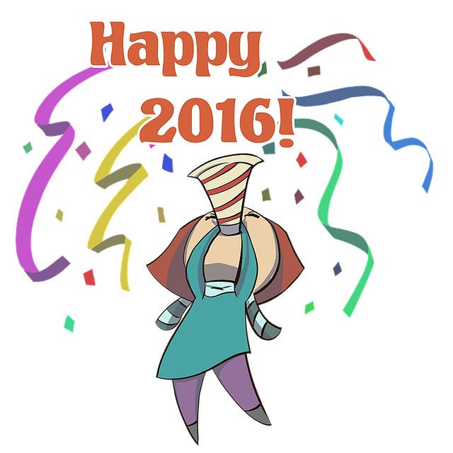 Happy, 2016, New, Year, Holiday, Christmas, Party