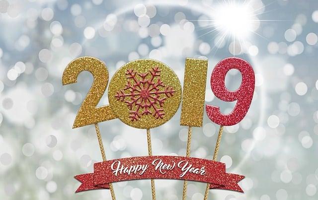 Happy Year, New Year, New Year's Eve, Celebration, 2019