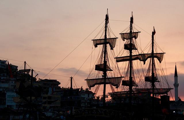 Alanya, Boat, Boar Trip, Turkey, Harbor, Mediterranean