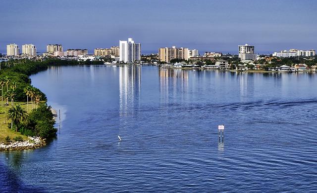 Clearwater, Beach, Clearwater Beach, Harbor, Causeway