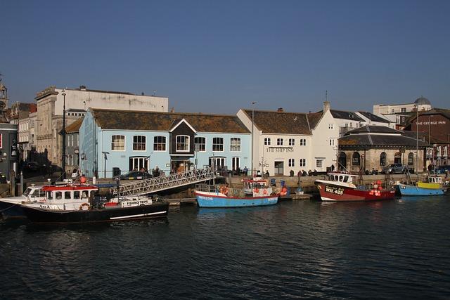 Fishing Village, Boats, Water, Town, Sea, Harbor, Coast