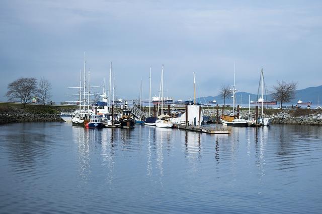 Water, Harbor, Marina, Pier, Yacht, Ocean, Vancouver