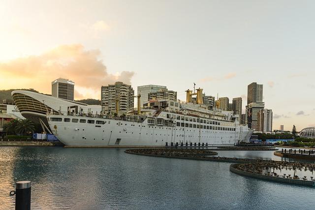 Ship, Cityscape, Harbor