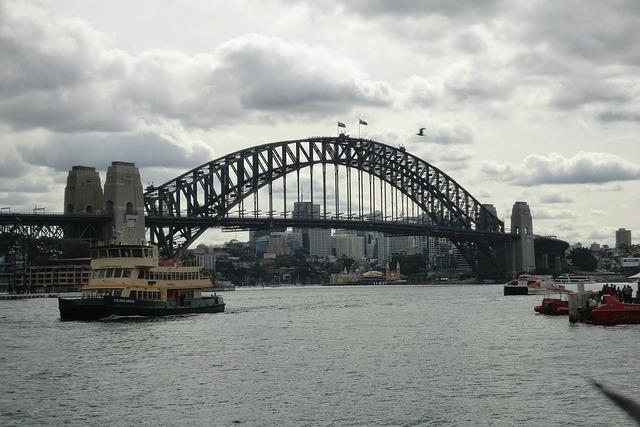 Sydney, Harbour Bridge, New South Wales, Australia