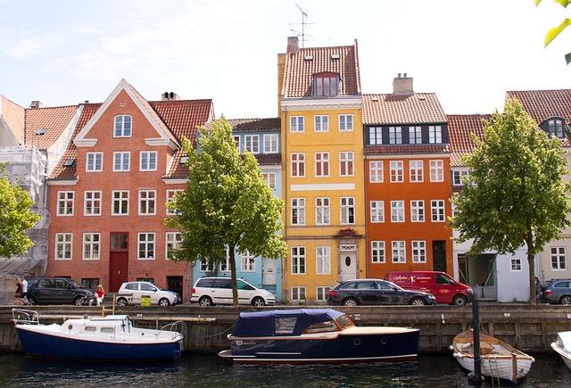 Canal, Copenhagen, Christianshavn, Harbour, Capital