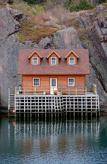 Newfoundland, Quidi, Vidi, St, John's, Harbor, Harbour