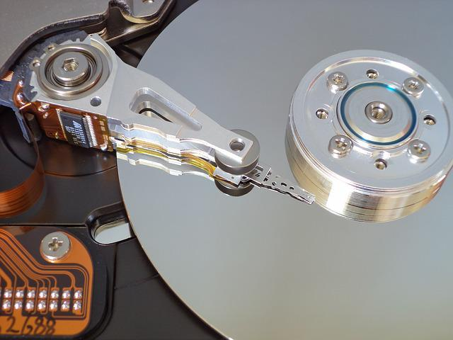 Hard Disk, Storage, Open Hard Drive
