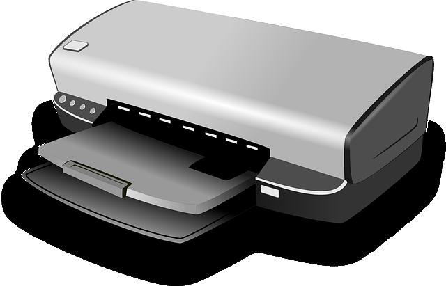 Printer, Computer, Hardware, Inkjet, Peripheral, Device