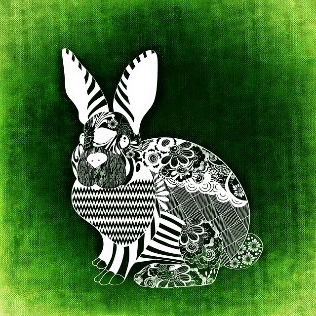 Hare, Easter, Abstract, Background, Funny, Texture