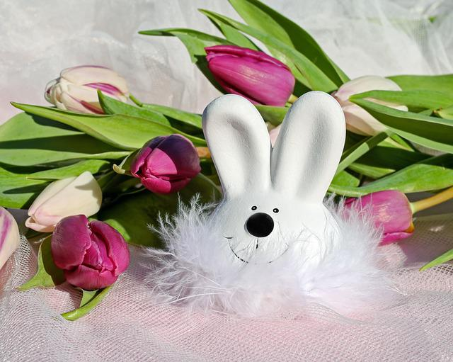 Easter Bunny, Easter, Figure, Hare, White, Cute, Funny