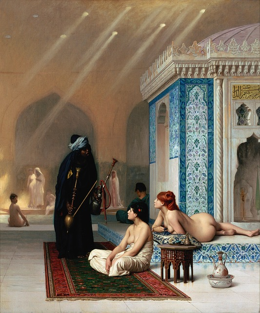 Harem, Bad, Arabia, Pool, Arabic, Shisha, Sheesha