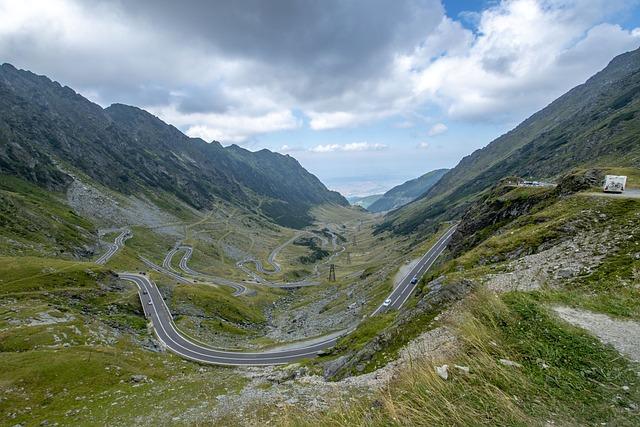 Rumania, Transylvania, Harghita, Trans-făgăraş Road