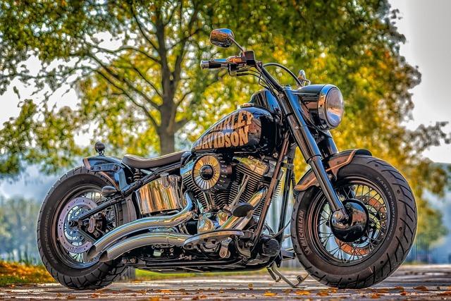 Harley Davidson, Motorcycle, Machine, Chrome, Usa
