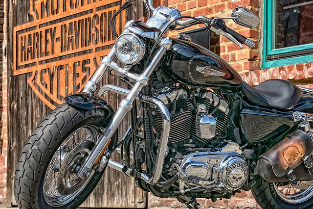 Motorcycle, Harley Davidson, Harley, Usa, Chrome, Gloss