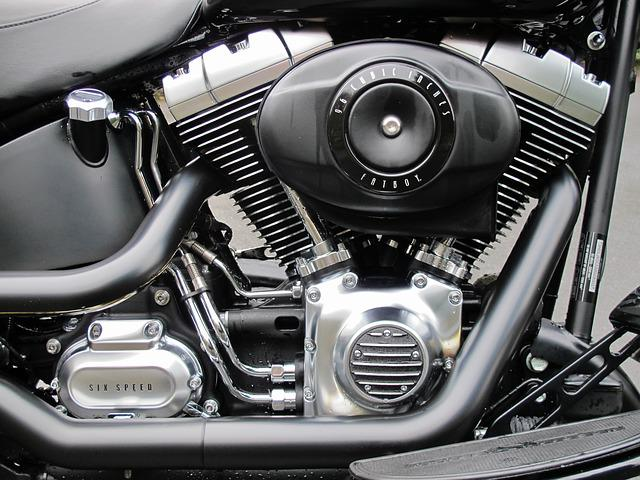 Engine, Harley, Muscle Bike, V Twin, Fat Boy