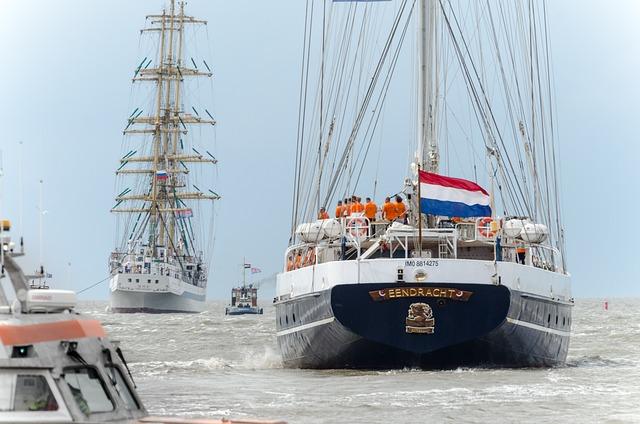 Ship, Harlingen, De Eendracht, Mir, Sailing, Wadden Sea