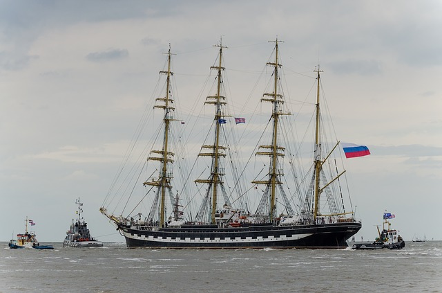 Ship, Training Ship, Harlingen, Wadden Sea, Sailing