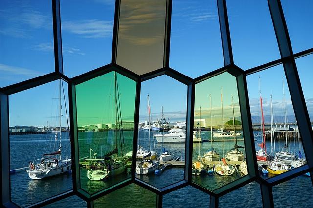Harpa, Colorful, Glass, Glass Panes, Glass Window