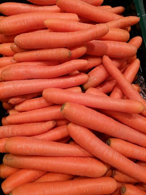 Vegetables, Carrots, Market, Cook, Food, Harvest