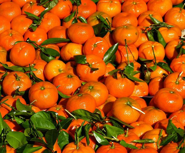 Eat, Tangerines, Fruit, Juice, Oranges, Market, Harvest