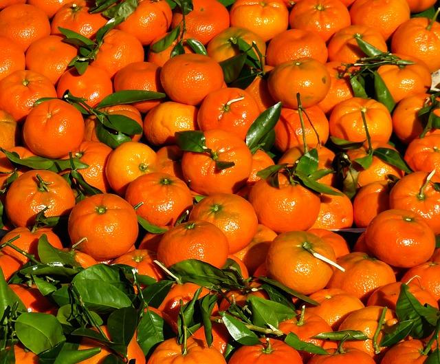 Eat, Tangerines, Fruit, Juice, Oranges, Market, Harvest