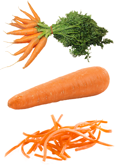 Isolated, Carrot, Food, Plant, Harvest, Healthy, Snack