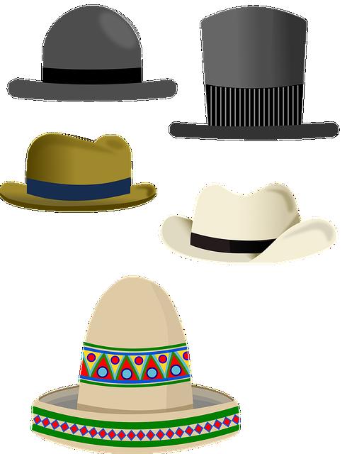 Hat, Top Hat, Coconut Hat, Sombreiro, Fashion