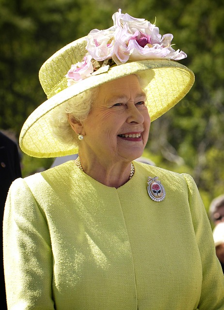 Queen, England, Elizabeth Ii, Portrait, Woman, Hat