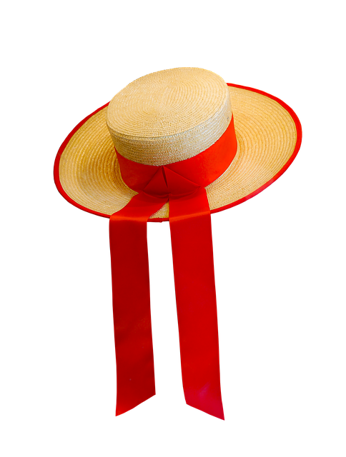 Hat, Straw Hat, Isolated, Headwear, Venice, Gondolier