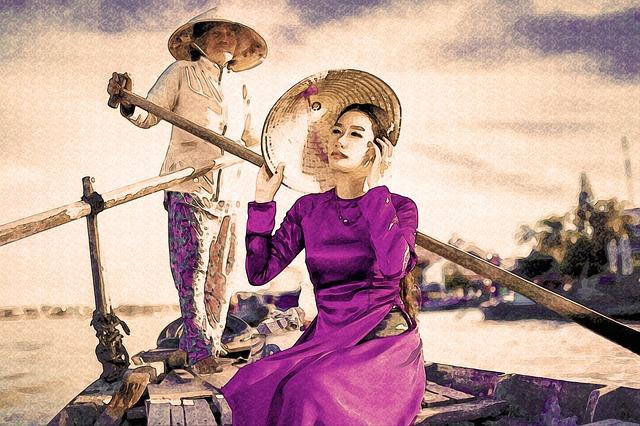 East, Hat, Violet, Water, Woman