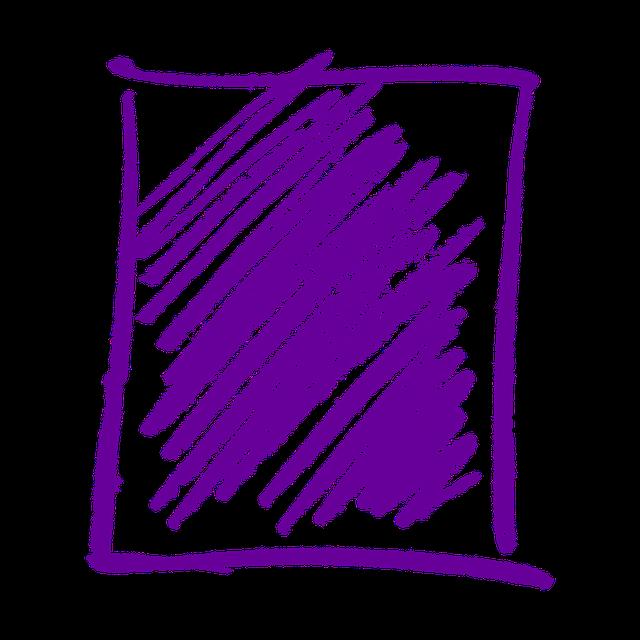 Box, Hatch, Doodle, Frame, Scratches, Oblique