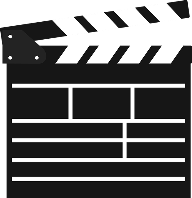 Filmklappe, Film, Cinema, Hatch Synchronously, Icon
