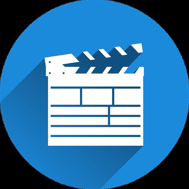 Filmklappe, Film, Cinema, Hatch Synchronously, Icon