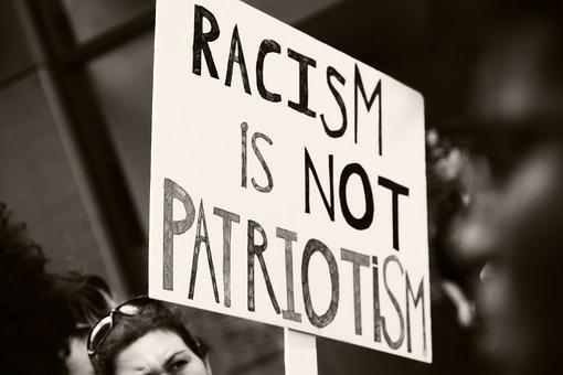Sign, Society, Racism, Patriotism, Protest, Hate, Love