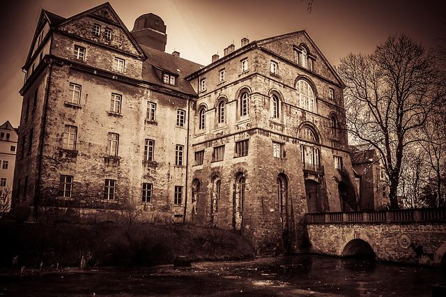 Home, Old, Haunted House, Haunted Castle, Leave