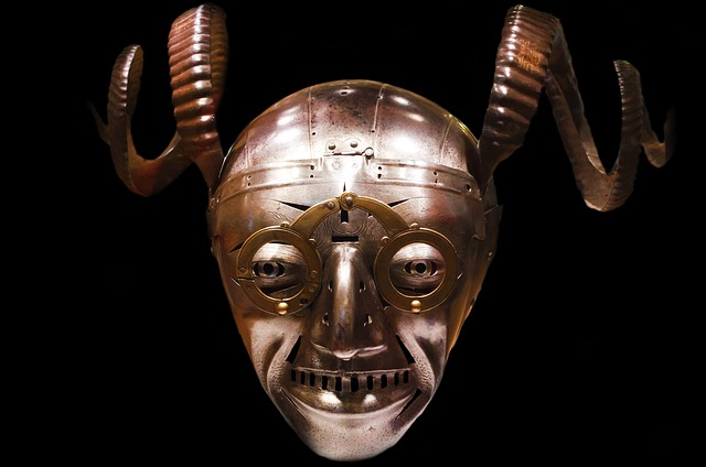 Knight, Helmet, Scary, Crazy, Devil, Haunted, History