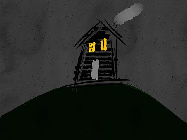 Halloween, Halloween Background, Haunted House