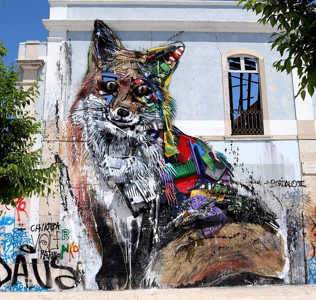 Graffiti, Street Art, Wall, Art, Facade, Hauswand