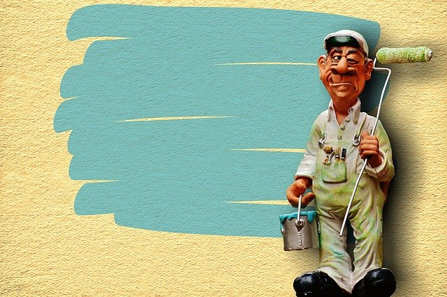 Painter, Delete, Hauswand, Work, Figure