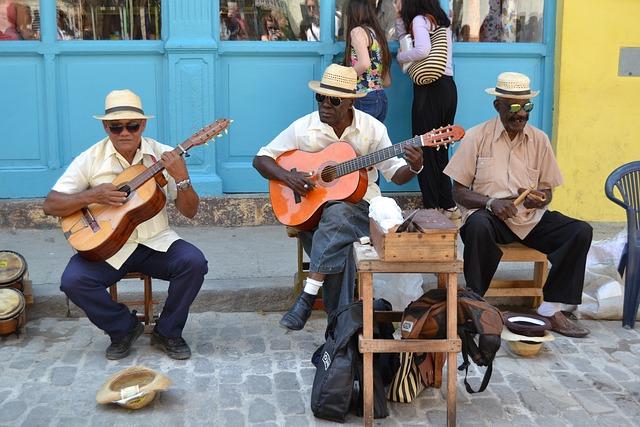 Havana, Cuba, Music, Attitude To Life, Men, Caribbean