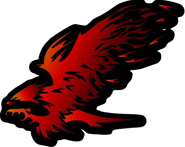 Eagle, Raptor, Bird Of Prey, Attacking, Red, Hawk