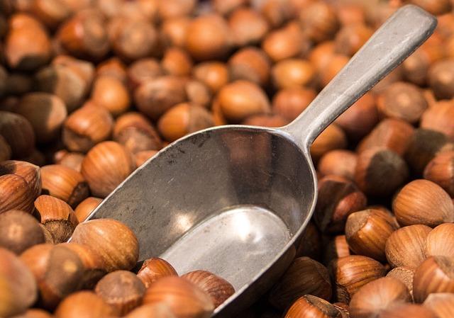 Hazelnuts, Nuts, Brown, Shells, Macro