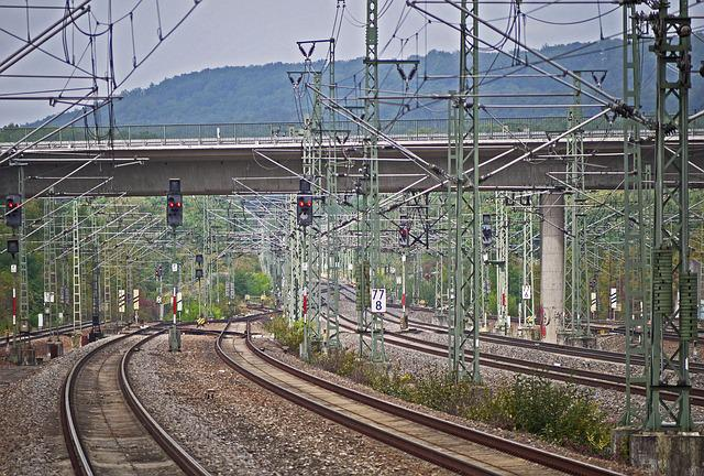 Vaihingen, Hbf, Fast Track, Stuttgart - Mannheim