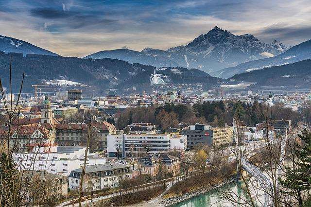 Hdr, Innsbruck, Structure, Holiday, Tyrol, City, Trees