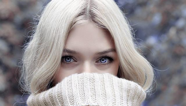 Woman, Blonde, Look, Looking, Blue Eyes, Face, Head