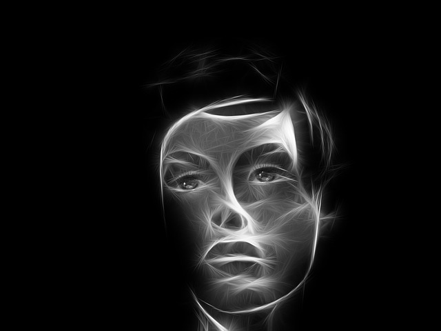 Face, Soul, Head, Smoke, Light, Sad, Thoughts