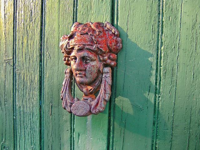 Head Has Ocd, Door, Green