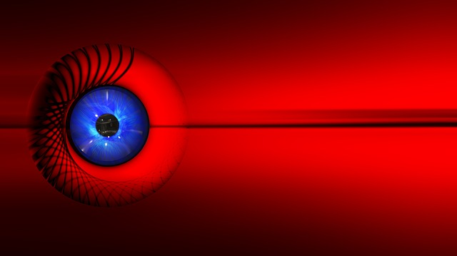 Eye, Background, Wallpaper, Banner, Header, Red